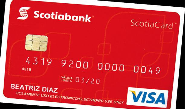 Scotiabank espera completar la migración a tecnología chip en tres años. /DEM