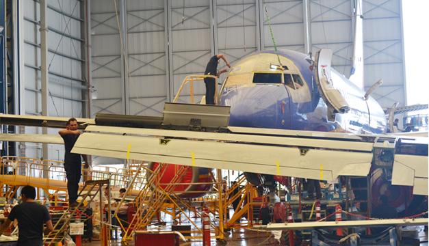 Con cinco hangares, Aeroman atenderá hasta 20 líneas de producción. / ERNESTO MARTÍNEZ