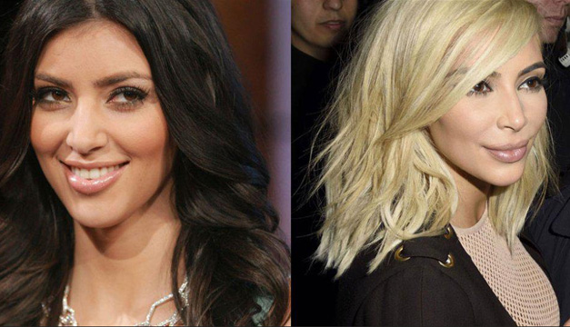 Kim Karadshian antes y después.