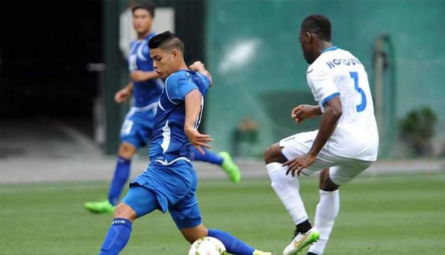 La selección salvadoreña perdió ante Honduras su primer partido amistoso. /Cortesía La Prensa Honduras
