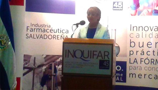 Presidenta de INQUIFAR, Carmen Pérez/Foto: X.G