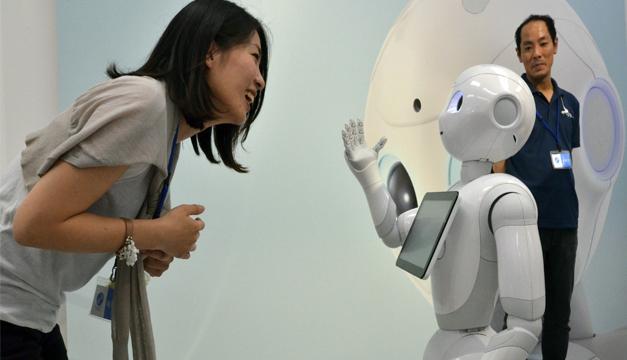 Modelo del robot/Tomada de internet