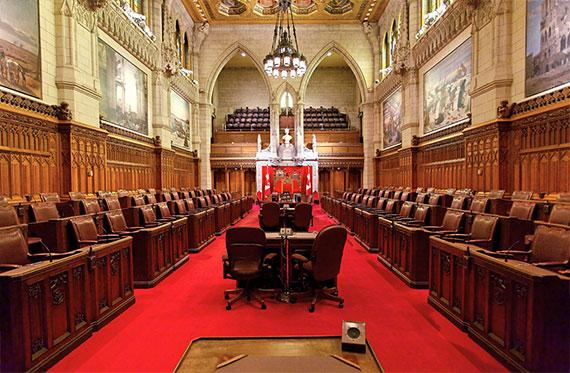 Sala del Senado de Canadá
