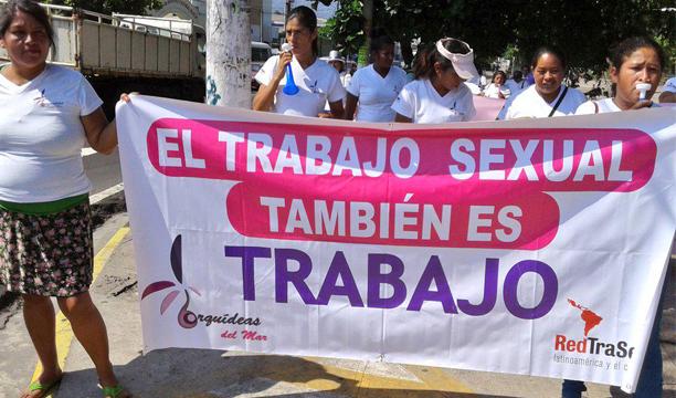 Exigieron sus derechos en el Parque Cuscatlán./ Ó.M.
