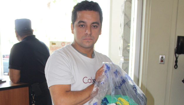 Javier Ordóñez fue detenido en el aeropuerto. /fiscalía