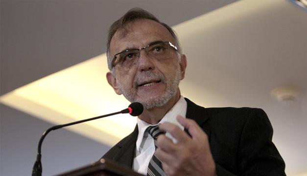 Jefe de la Cicig, Iván Velásquez.