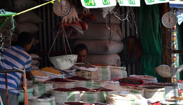 Venta de granos básico.Foto por: Jahir.M/DEM