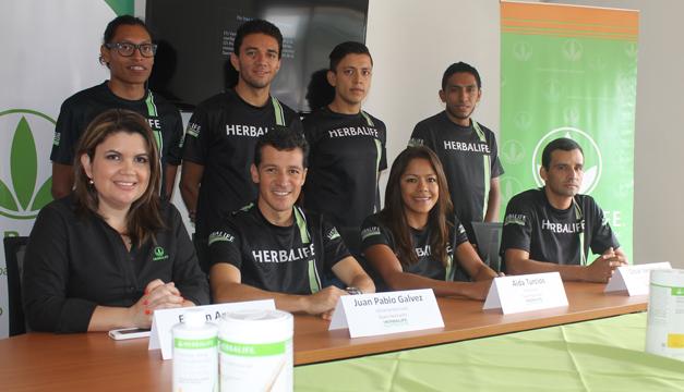 Representantes de Herbalife y atletas patrocinados./P.C.