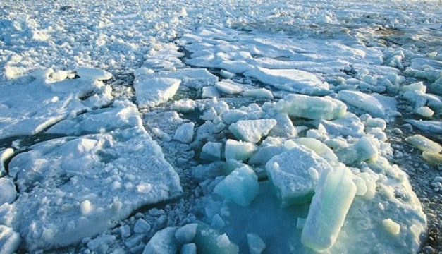 Cada año el Ártico experimenta la formación y fusión de vastas cantidades de hielo. FOTO: ESA