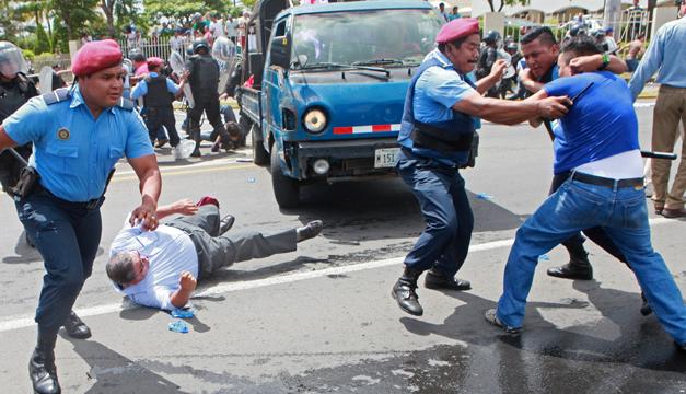 Nicaragua-marcha