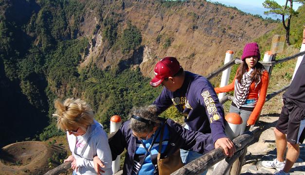 Turistas visitando El Boquerón. Foto: Archivo DEM