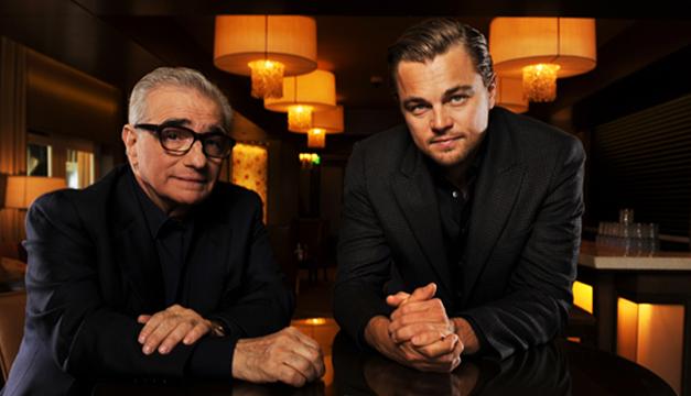 Di Caprio y Scorsese