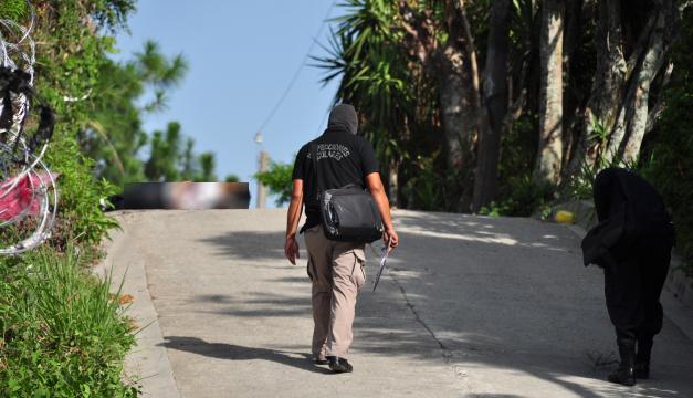 Familiares descartaron que el estudiante tuviera vínculos con grupos delincuenciales o hubiera recibido amenazas. Óscar Machón.