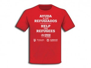 Camiseta en favor refugiados