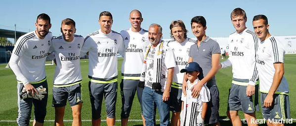 FOTO: Extraída de la cuenta oficial del Real Madrid en Twitter