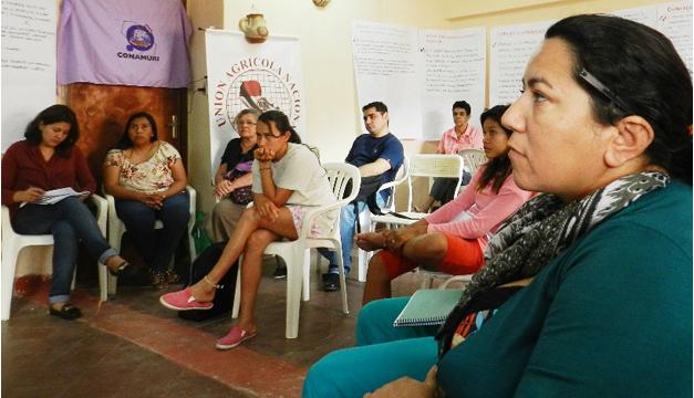 Miembros de Organizaciones Sociales de Paraguay. Cortesía: FAO.