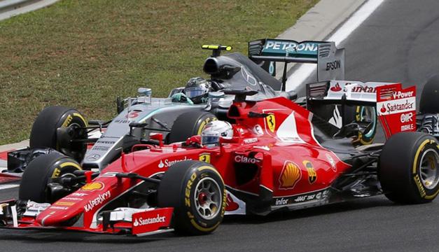 Ferrari-y-Mercedes-F1