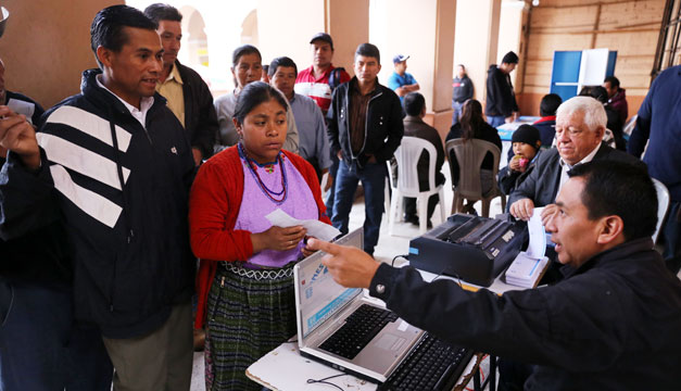 GUATEMALA-ELECCIONES