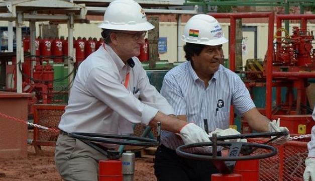 Foto de referencia a un hallazgo de gas en campos administrados por Repsol. Cortesía: Diario Libre