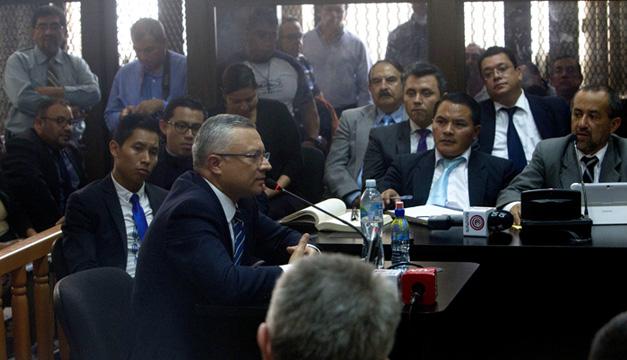 """Empresario Salvador Estuardo González, implicado en caso """"La Línea""""."""