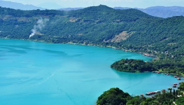 FOTO: Lago de Coatepeque / Oscar Machón