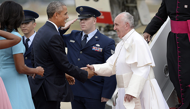 Papa Francisco-Barack-Obama