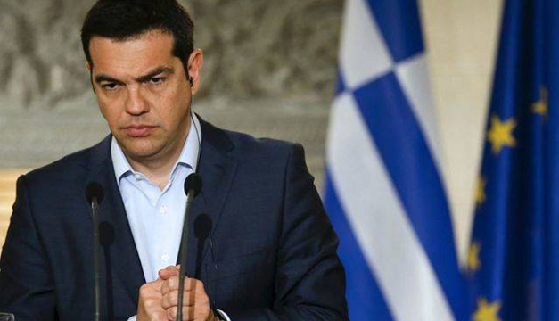 Gobernador de Grecia, Alexis Tsipras.