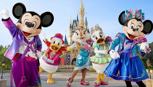 Disneyland-Europa-Micky-Mouse