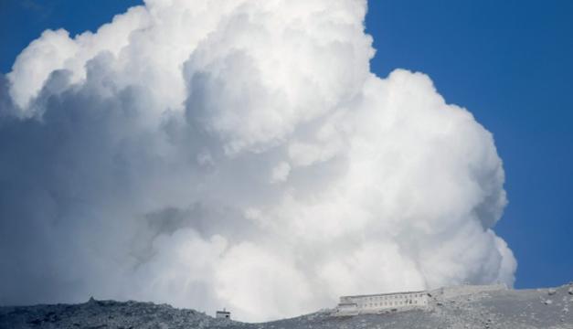 Erupción en el volcán Ontake, en septiembre de 2014. EFE