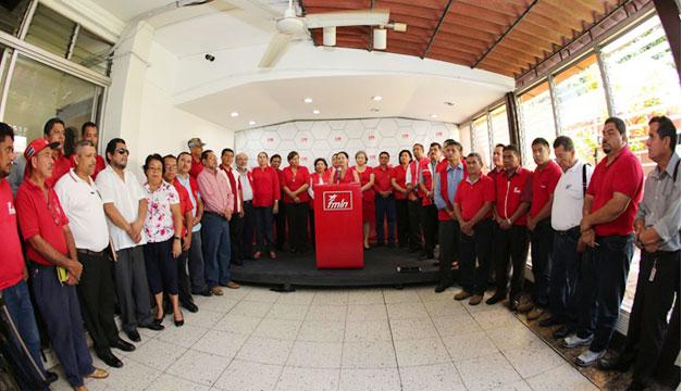 FMLN-secretarios