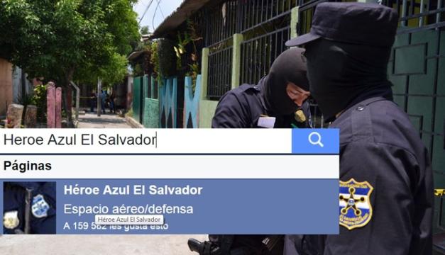 Heroe Azul El Salvador 2
