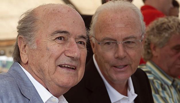 Josep-Blatter-Beckenbauer