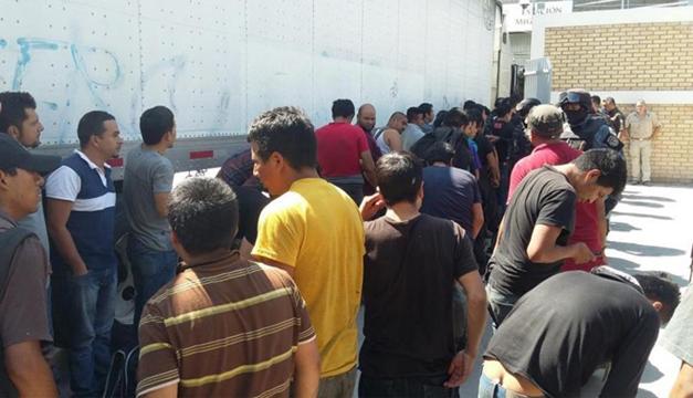 Los inmigrantes llevaban encerrados más de 48 horas.