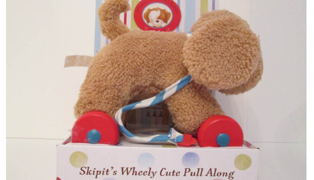 Skipit's Wheely Cute Pull Along