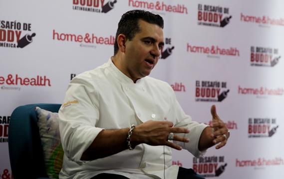 """Valastro aseguró hoy que evalúa la apertura de un """"Carlo's Bake Shop"""" en Brasil. Foto: EFE"""