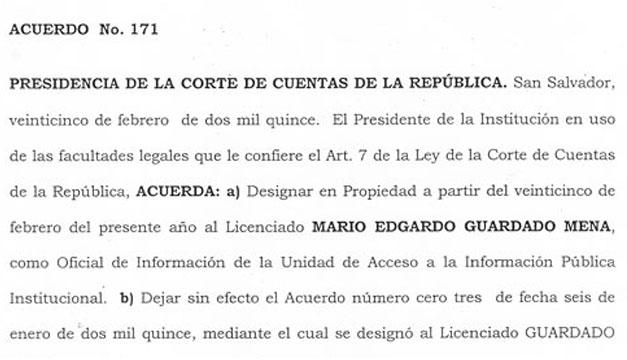 Acuerdo-CCR