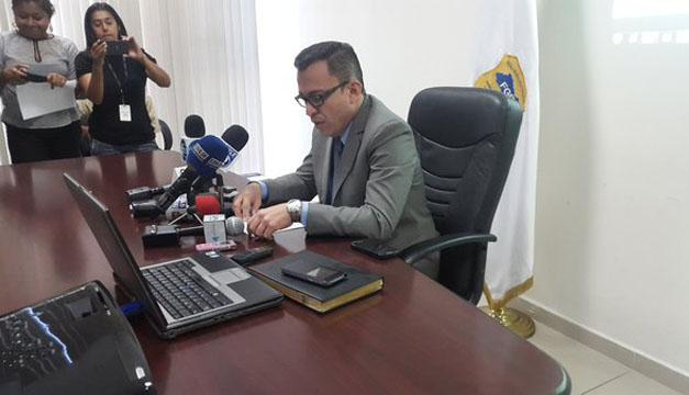 Fiscal Domínguez. Cortesía: FGR