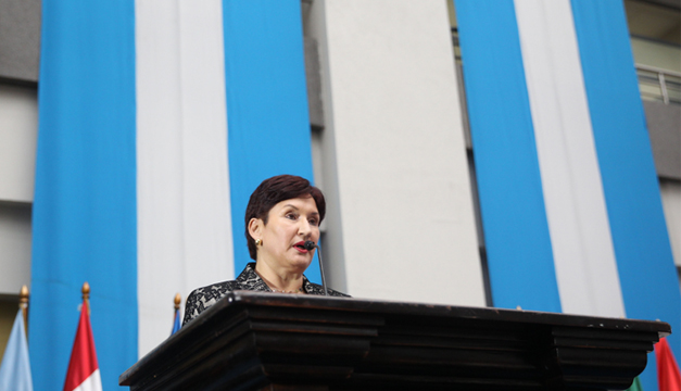 Fiscal General, Thelma Aldana. Foto/EFE