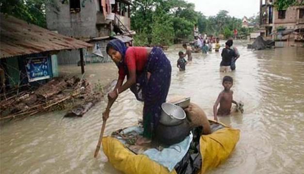 Inundaciones en la India. Archivo/DEM