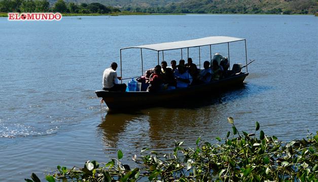 Laguna Olomega. Archivo DEM.