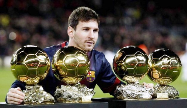 Messi Balon de Oro