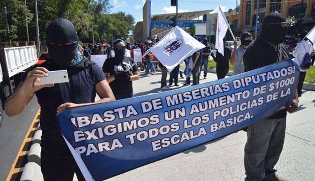 Protesta-policias