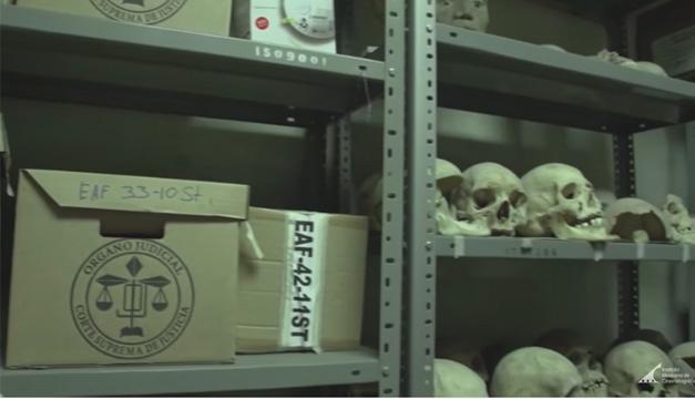 El cuarto de los huesos