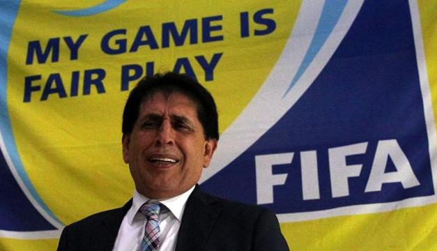 Bryan Jiménez, presidente de la Federación de Fútbol de Guatemala. EFE