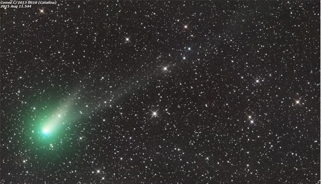 Imagen del cometa. Tomada de internet.