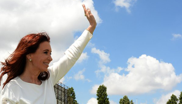 Tomada de cuenta personal su cuenta personal de Twitter: @CFKArgentina