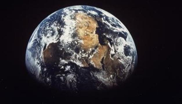 Imagen de la tierra. EFE