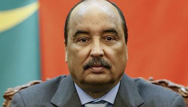 Presidente Mohamed Ould Abdel Aziz. Foto tomada de internet.