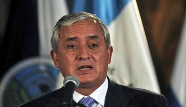 Expresidente Otto Pérez Molina. EFE