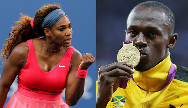 Serena-Williams-Usain-Bolt